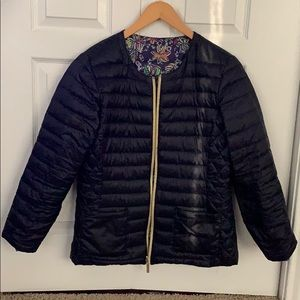 Lily Pulitzer reversible-puffer jacket